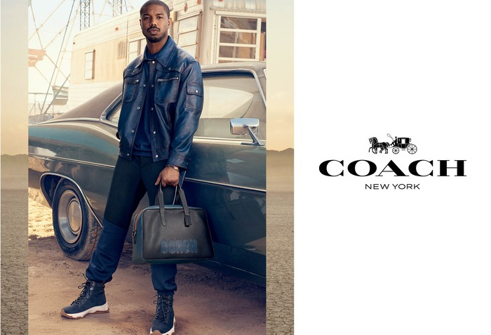 Michael B Jordan in a Coach ad