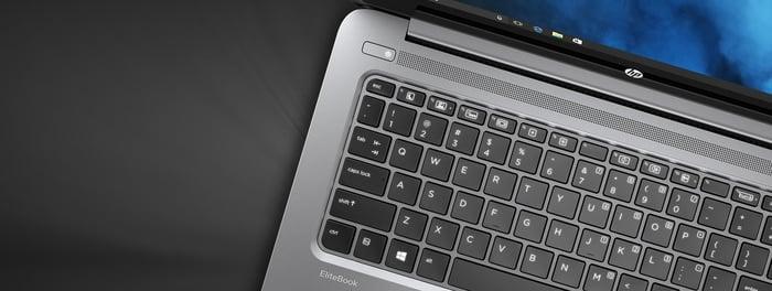 An HP EliteBook.