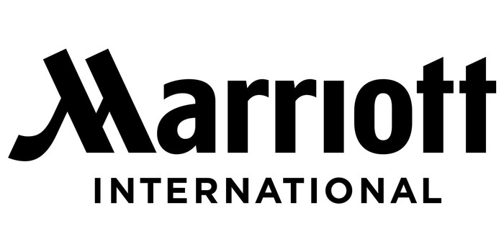 Marriott logo in black.