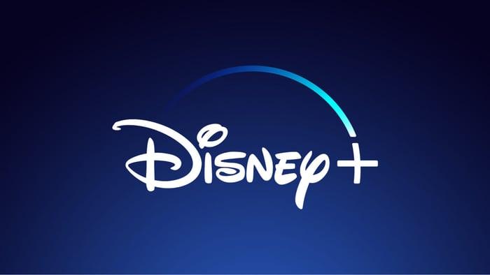 Disney+ logo.