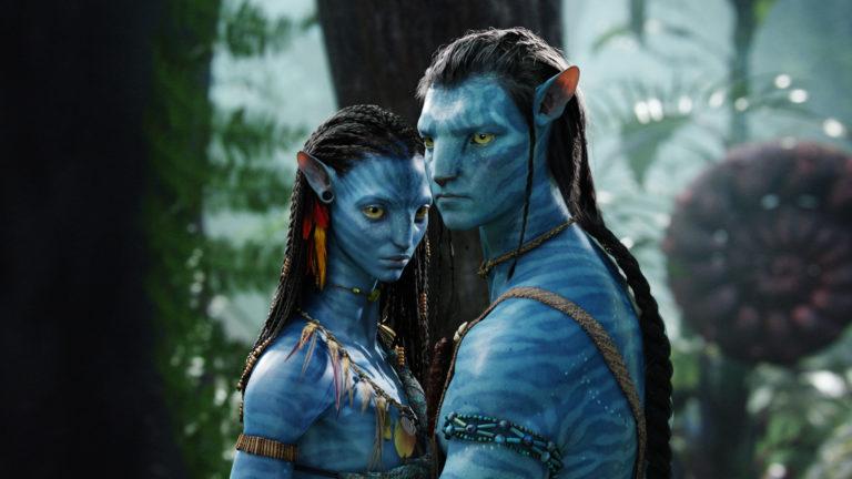 "A scene from Fox's hit sci-fi adventure ""Avatar."""