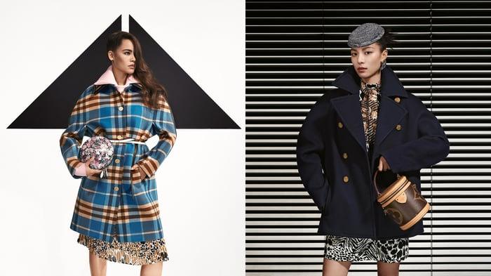 Louis Vuitton's pre-fall collection.