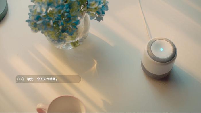 Baidu's Xiaodu speaker.