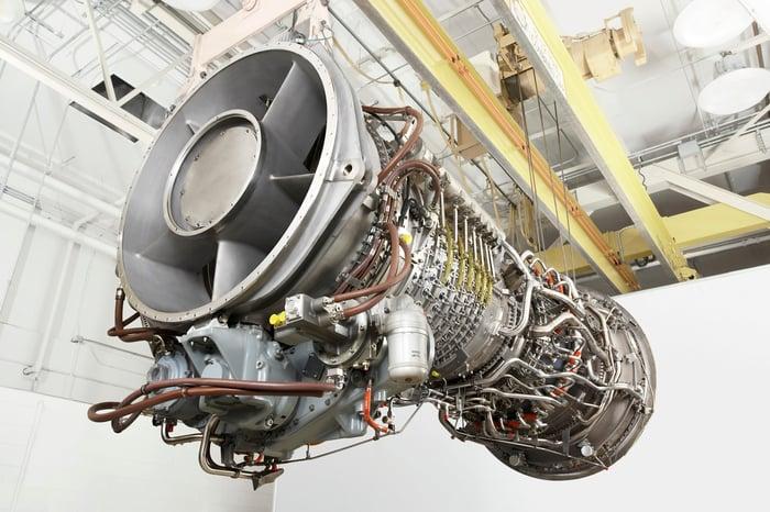 A GE turbine