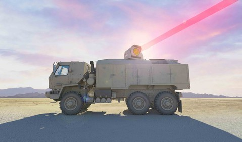 Dynetics HELTVD laser shooting concept source Dynetics