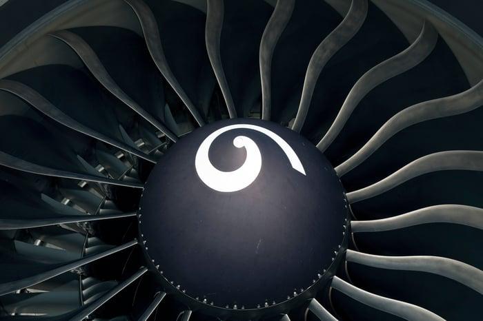 A GE Aviation engine