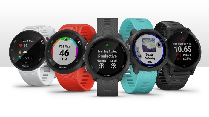 Five Garmin smartwatches