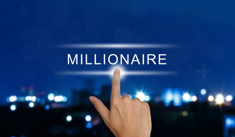 Getty - millionaire get rich wealthy money
