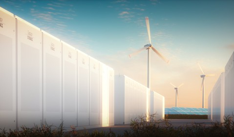 Energy Storage with Renewable Plants