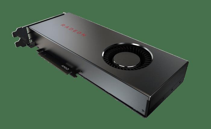 AMD Radeon RX 5700 graphics card.