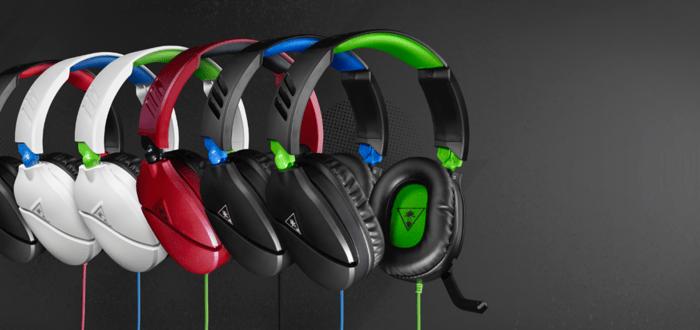 Turtle Beach headsets.
