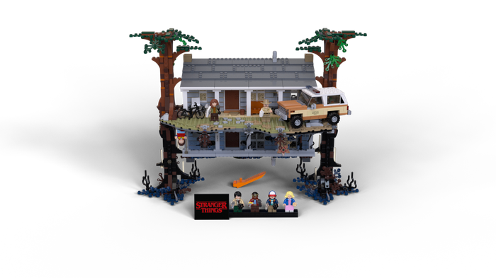 The Stranger Things Lego set.