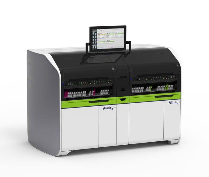 Alinity CI-Series lab machine.