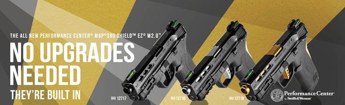 Smith & Wesson M&P 380 Shield EZ firearms