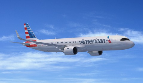 Airline-American Airlines Airbus A321XLR-AAL-EADSY