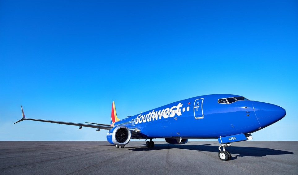 Airline-Southwest Airlines plane LUV-Boeing 737 MAX 8-BA