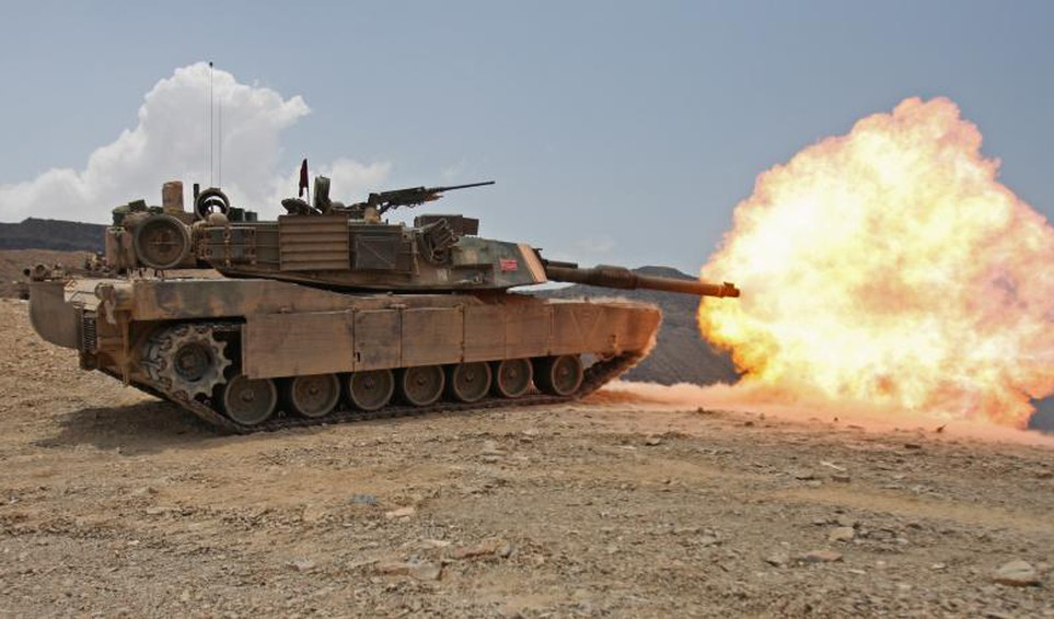 GD M1 Abrams tank Source GD