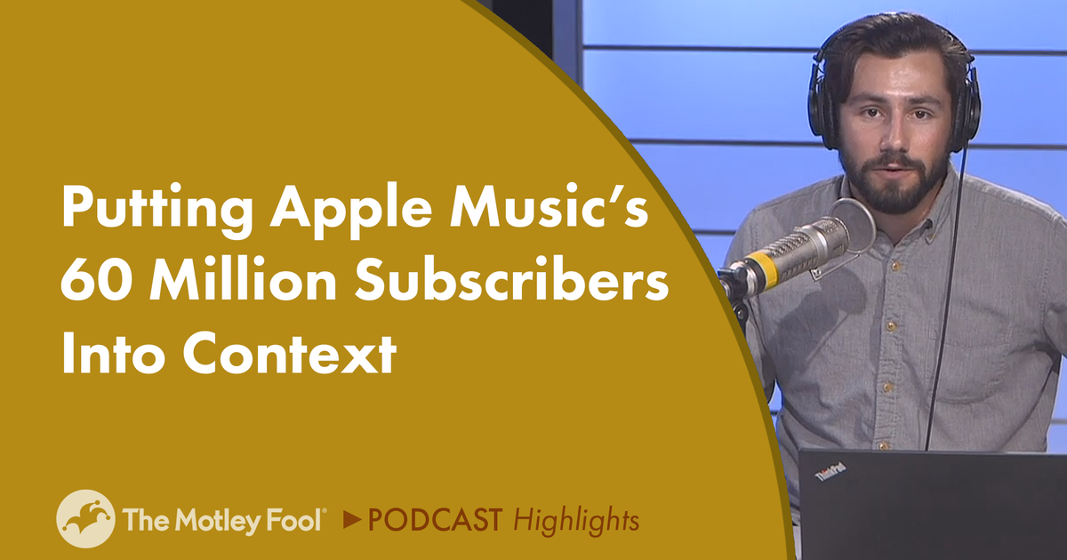 Putting Apple Music's 60 Million Subscribers Into Context
