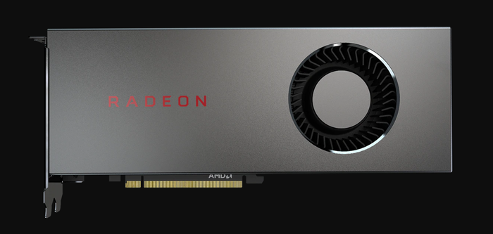 AMD's Radeon RX 5700 graphics card.