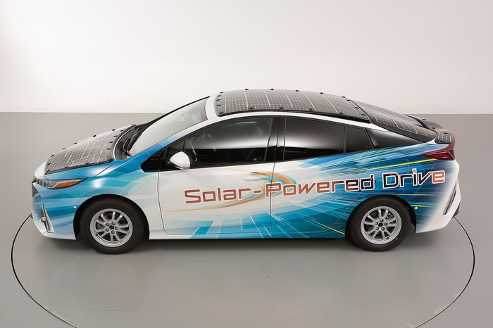 Toyota's Prius PHV demo vehicle