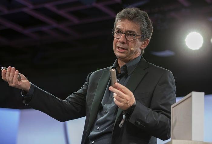 CEO Andres Calantzopolous