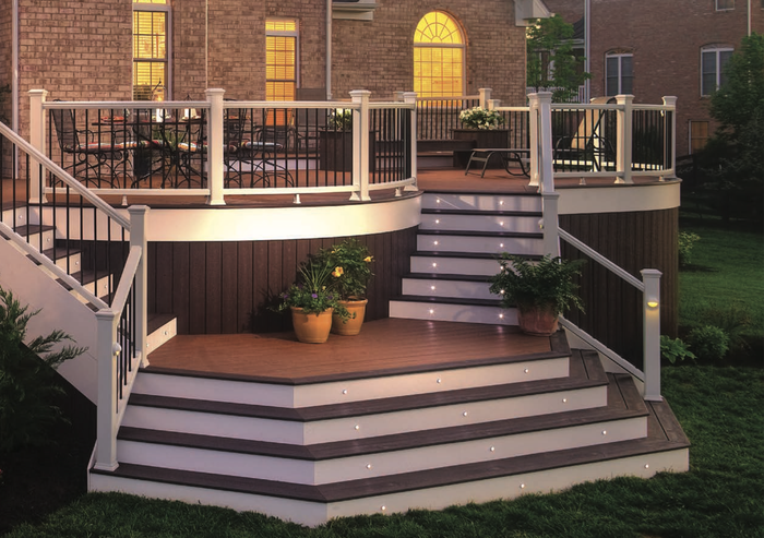 A Trex deck