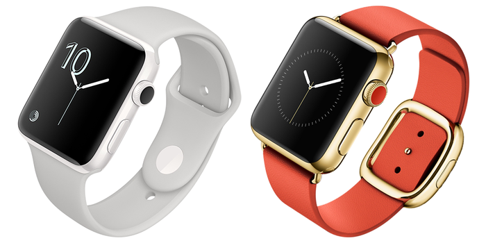 Ceramic and gold Apple Watch Edition