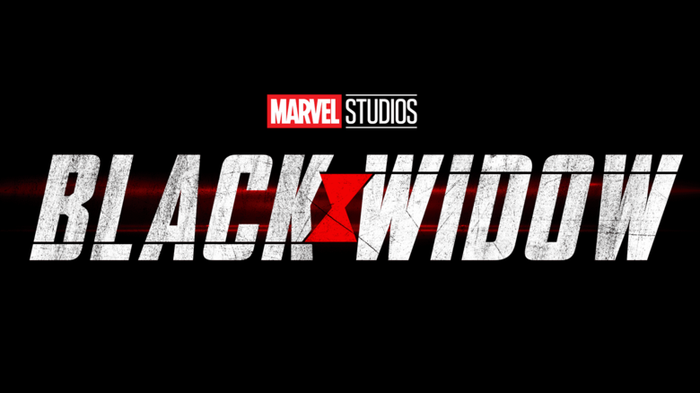 Marvel Studios Black Window movie logo.