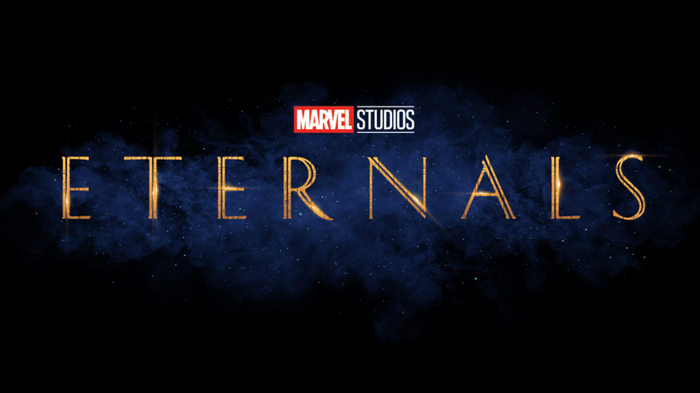 Marvel Studios Eternals movie logo.