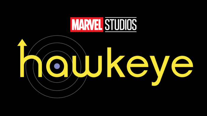 Marvel Studios Hawkeye movie logo.