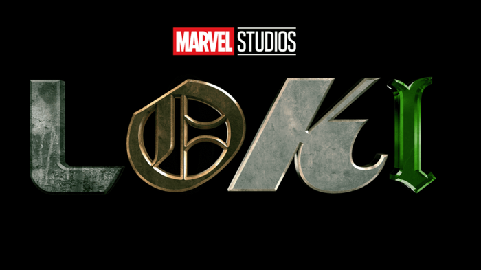 Marvel Studios Loki movie logo.