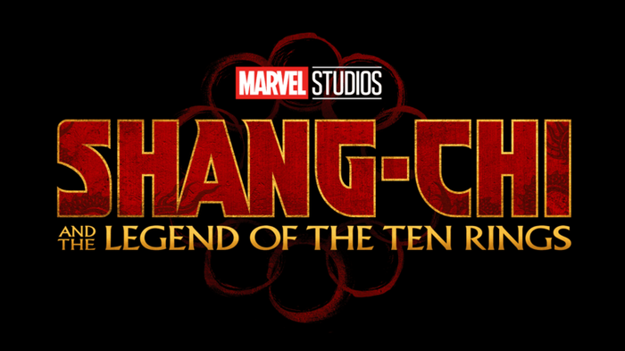 Marvel Studios Shang-Chi and the Legend of the 10 Rings movie logo.