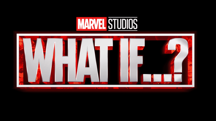 Marvel Studios What If...? movie logo.