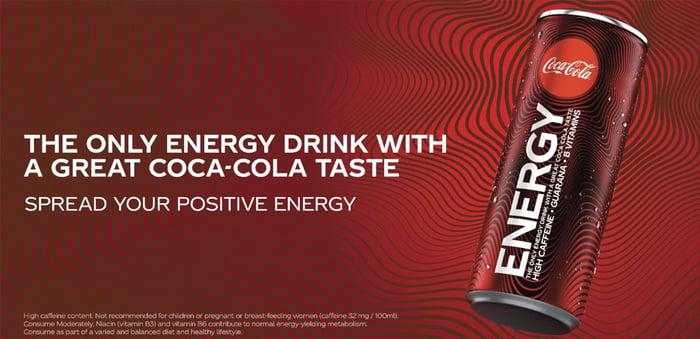 Coca-Cola Energy.