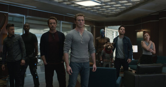 A screen grab from Avengers: Endgame.