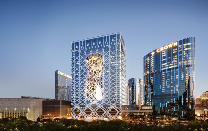 Morpheus tower at City of Dreams in Macao.