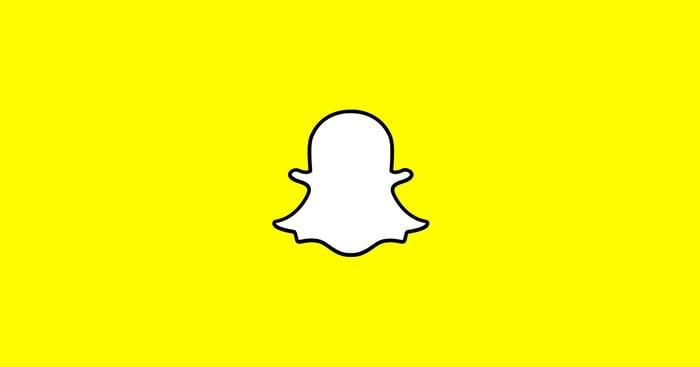 The Snapchat logo.