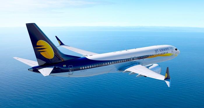 737 MAX in flight