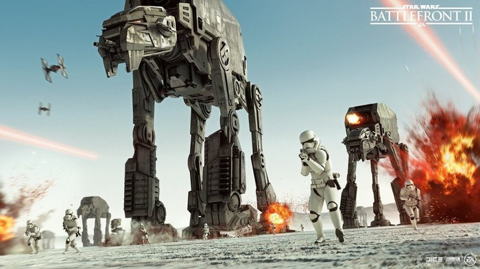 "EA's ""Star Wars Battlefront II""."