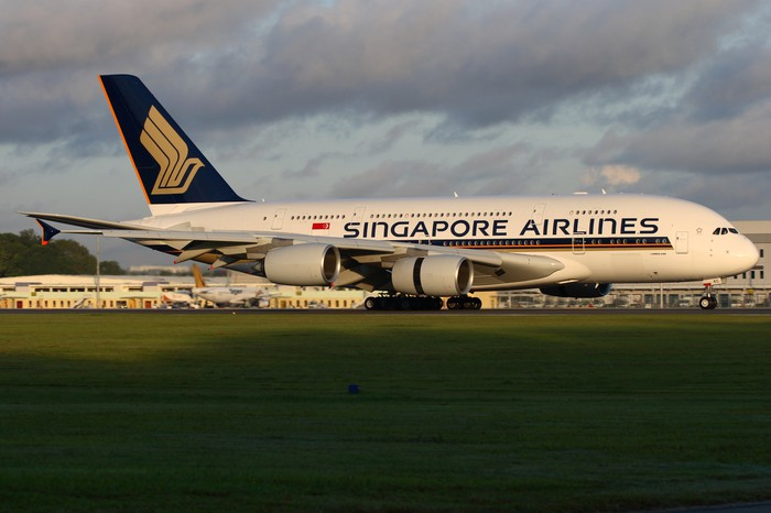 A Singapore Airlines A380