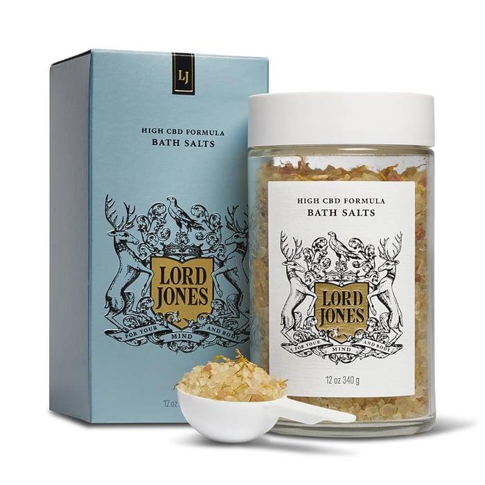Lord Jones bath salts