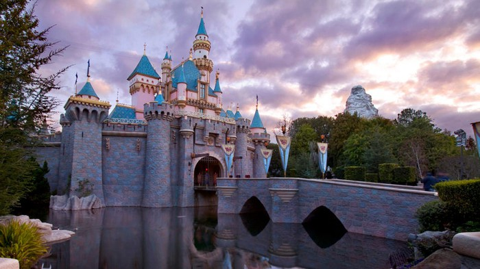 Disneyland's Sleeping Beauty Castle.