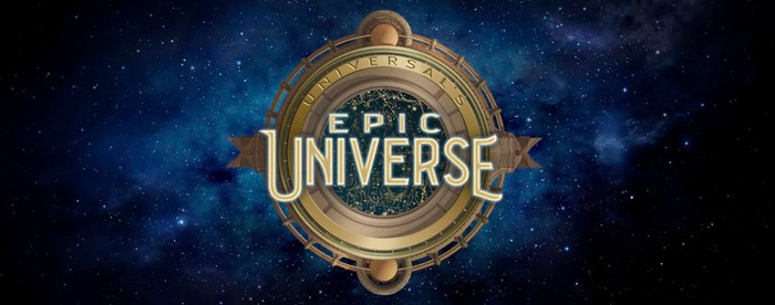 The logo for Universal's Epic Universe