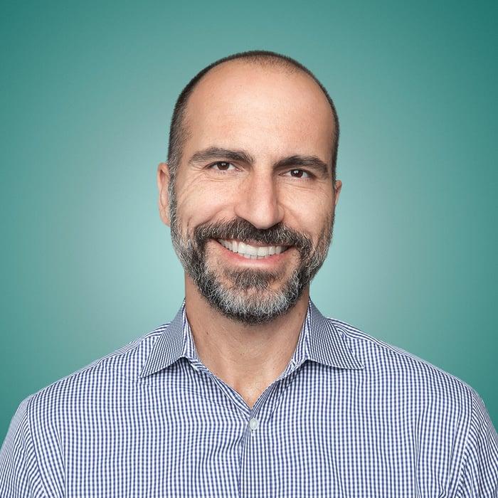 Uber CEO Dara Khosrowshahi