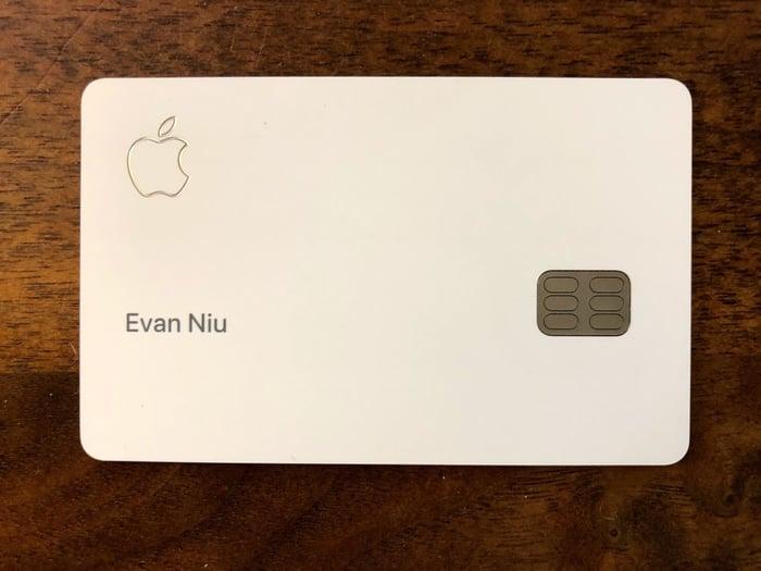 Author's Apple Card