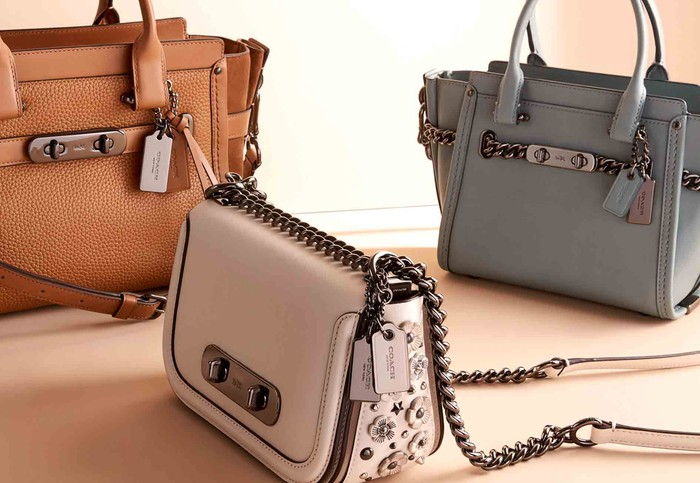 Coach handbags.