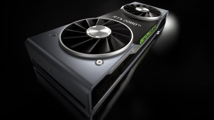 NVIDIA GeForce RTX 2080 Ti.