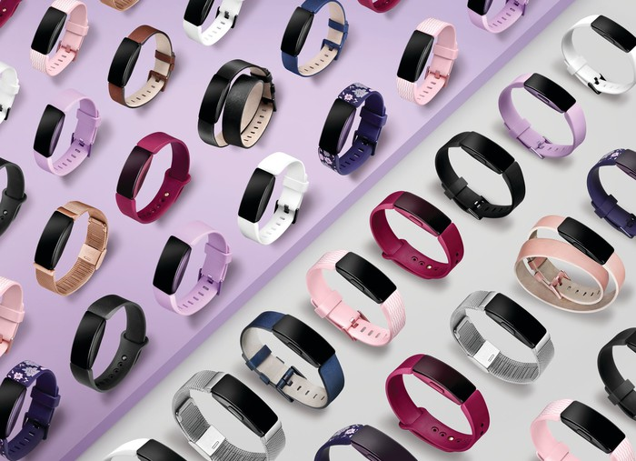 Fitbit Inspire devices.