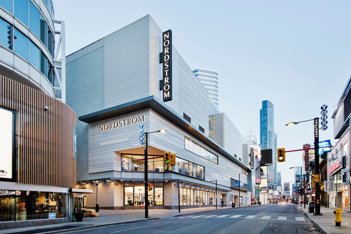 A Nordstrom store in Toronto, Canada.