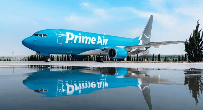 Amazon Prime Air 737 cargo jet
